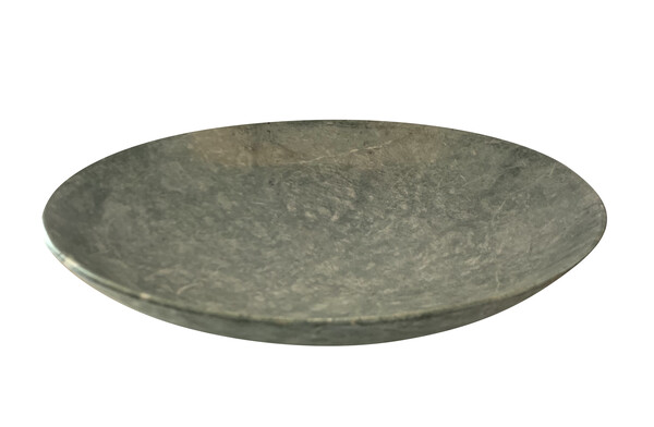 19thc Indian Large Green Marble Bowl