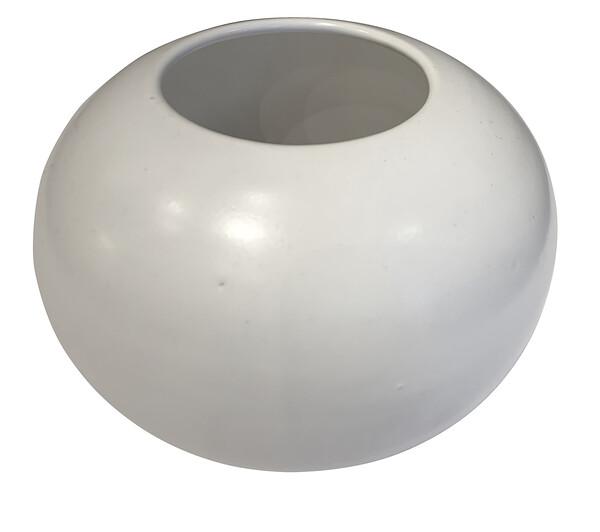 Contemporary American  Alabaster Glazed Bowl