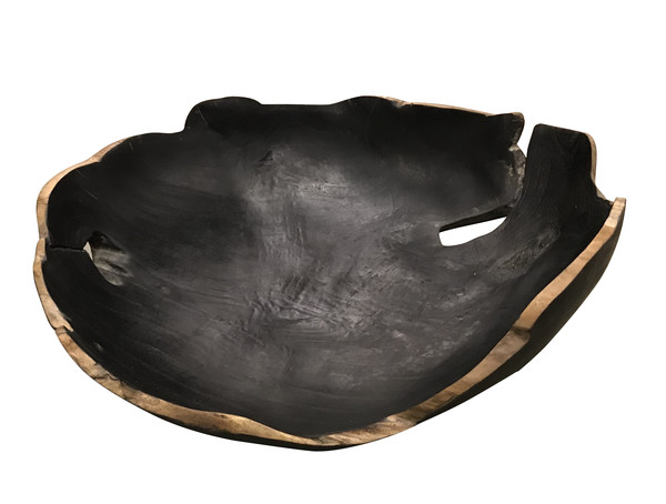 Contemporary Indonesian Teak Bowl