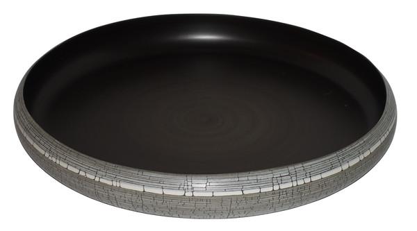 Contemporary Italian  Birch Motif Bowl