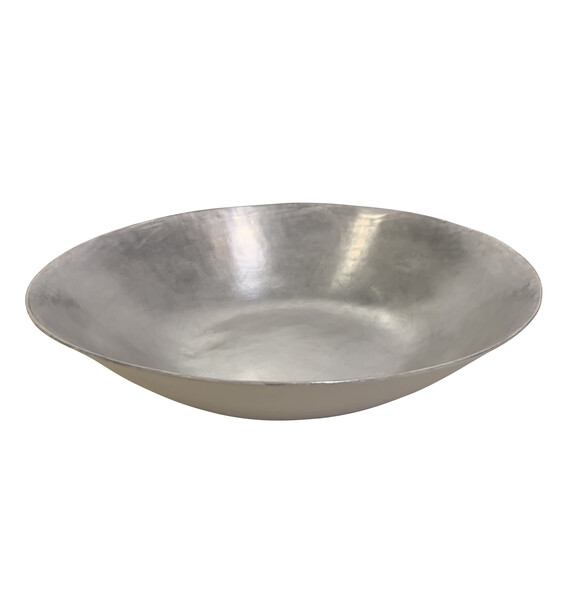 Contemporary Italian Extra Large Silver Bowl