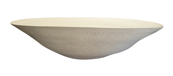Contemporary Italian XL Crackle Pattern Bowl