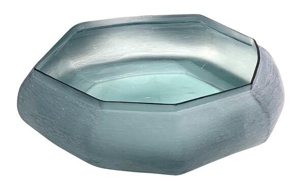 Contemporary Romanian Glass Bowl