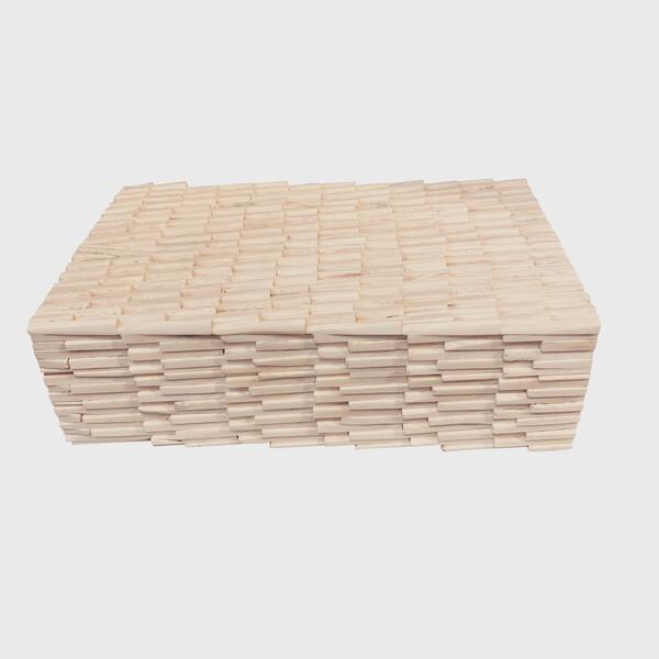 Contemporary Indian Textured Bone Box