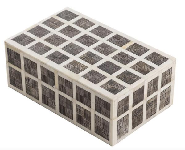 Contemporary Indonesia Checkerboard Design Box