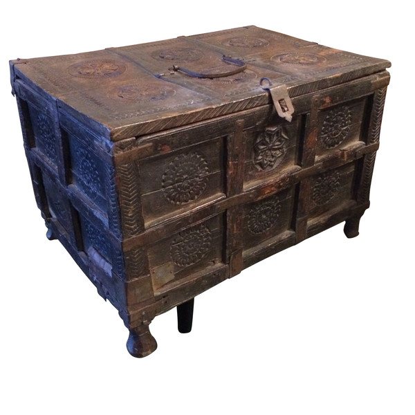 19thc Indian Wooden Box
