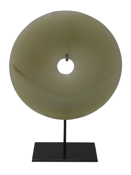 Contemporary Chinese Jade Disc