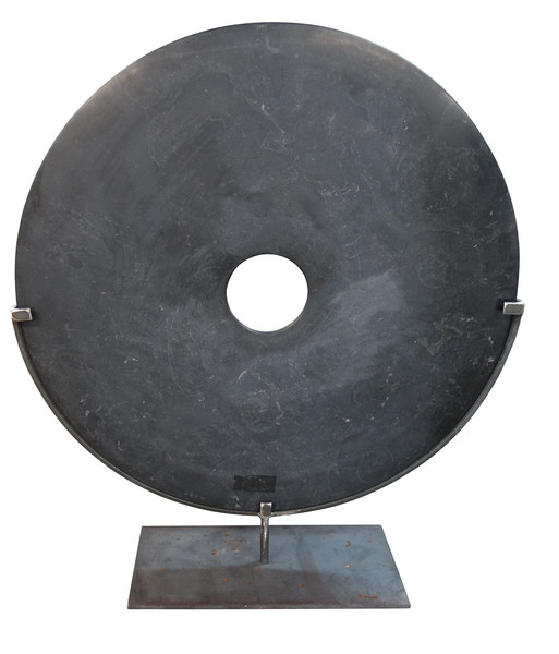 Contemporary Chinese  XL Black Stone Disc