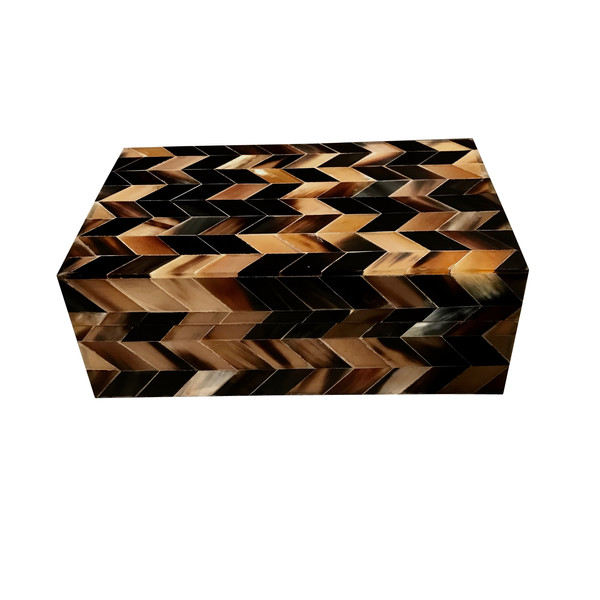 Contemporary Horn Inlaid Box