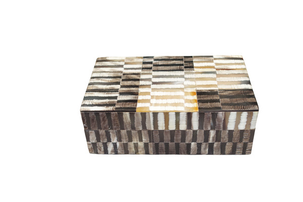 Contemporary Indonesian Patchwork Box