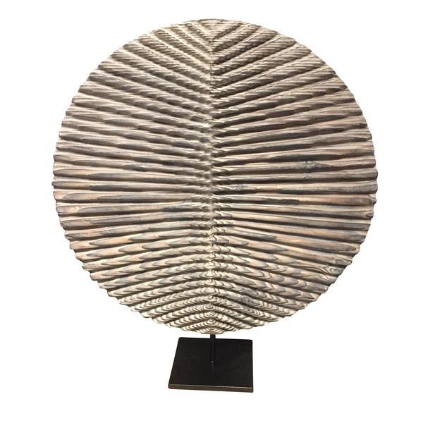 Contemporary Italian Hand Carved Wood Sculpture