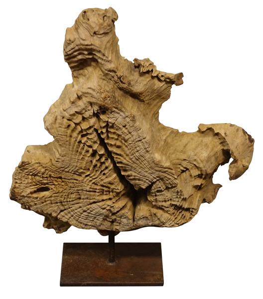 Indonesian Teak Wood Sculpture