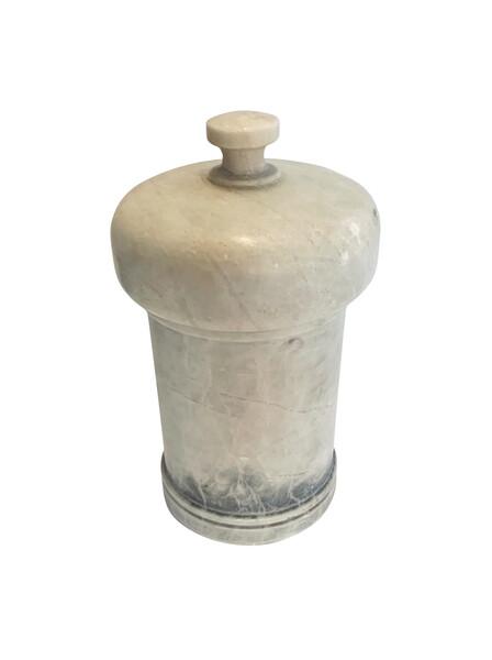 Mid Century Italian Lidded Alabaster Jar