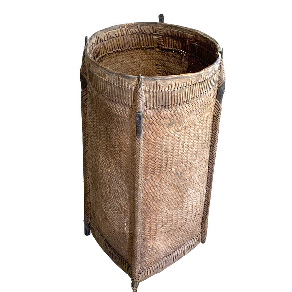 1920's Borneo Woven Basket
