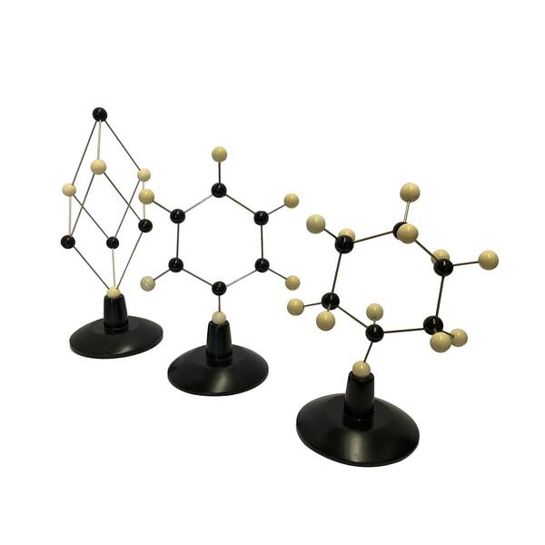 Contemporary Indonesian Set of Three Molecular Sculptures