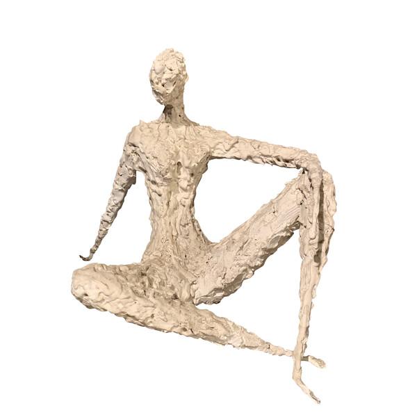 Mid Century Eastern European Artist Milovanovic Sculpture