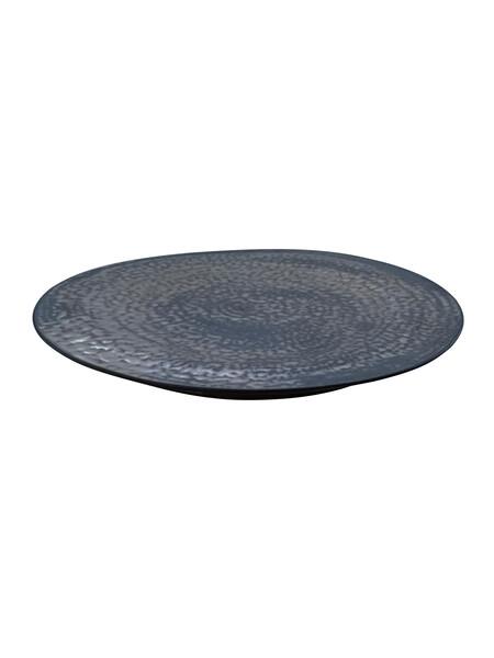 Contemporary American Ceramicist Sandi Fellman Large Bronze Platter