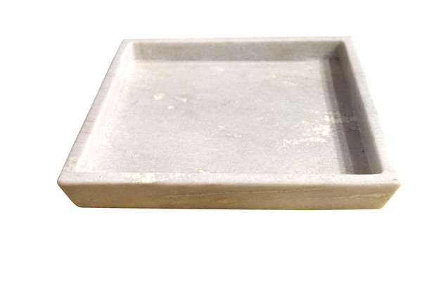 Contemporary India Square Marble Tray
