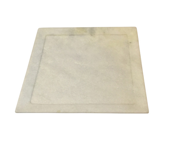 Contemporary Indian Square Marble Plate