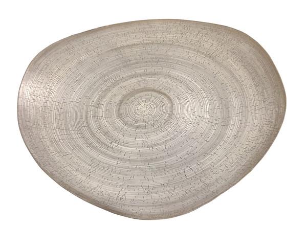 Contemporary Italian Large Birch Motif Platter