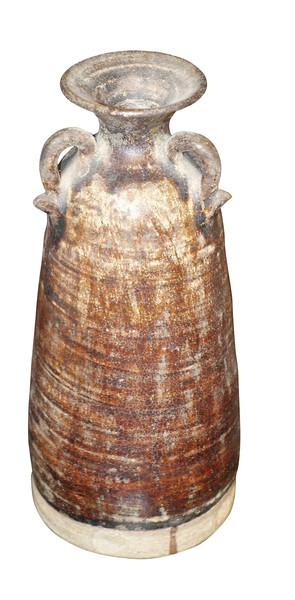18thc Cambodian Three Handled Vase