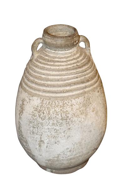 18thc Cambodian Two Handled Vase