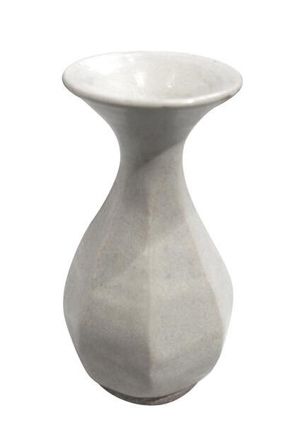 19thc Cambodian Cream Vase