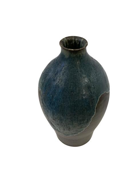 Contemporary American Ceramic Artist Peter Speliopoulos Stoneware Vase