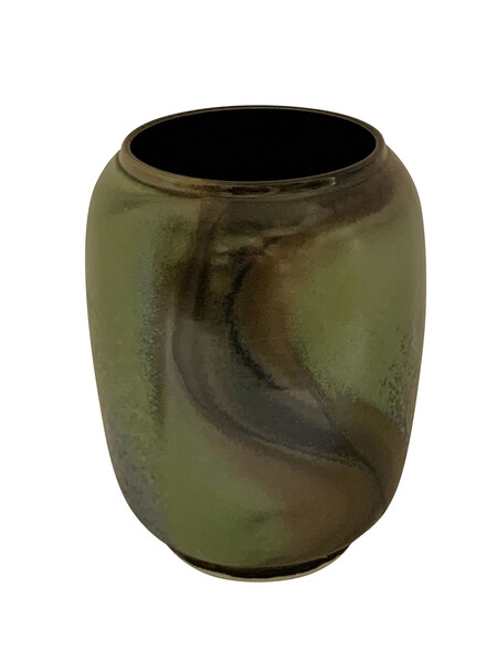 Contemporary Chinese Barrel Shape Vase