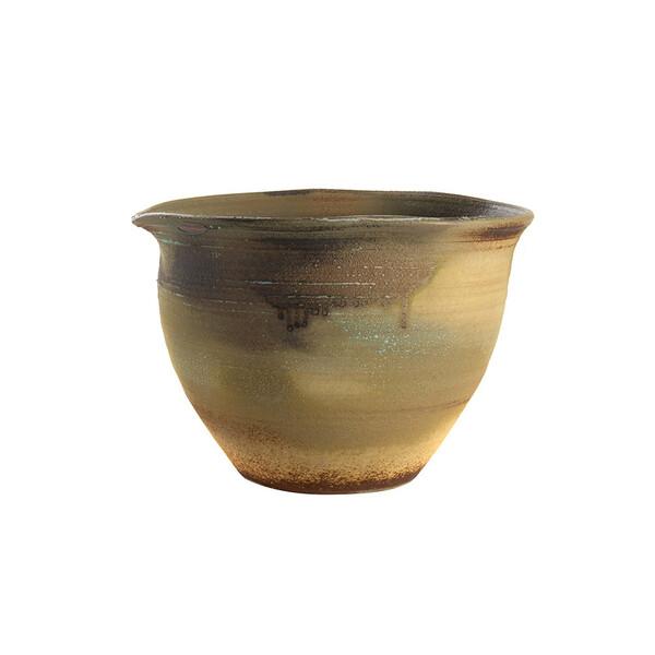 Contemporary Chinese Ceramic Drip Glaze Bowl