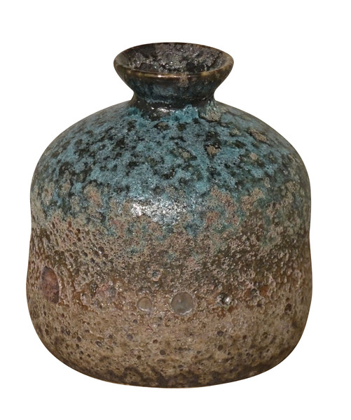 Contemporary Chinese Volcanic Glaze Vase