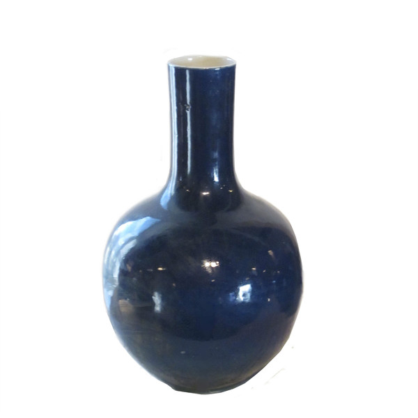 Contemporary Cobalt Blue  Vases