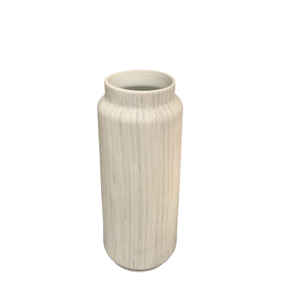 Contemporary Danish Design FIne Striped Vase