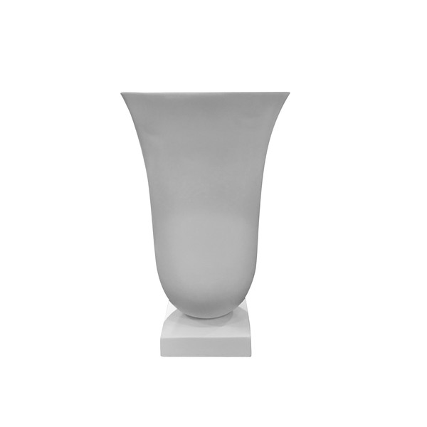 Contemporary French XL Classic Design White Vase