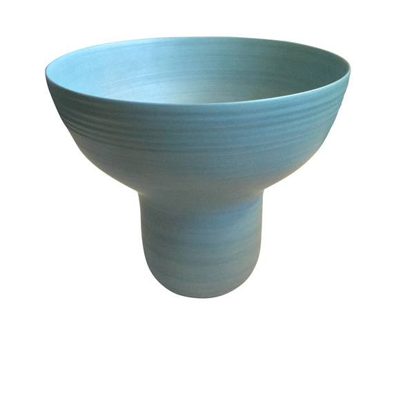 Contemporary Italian Large Wide Mouth Vase