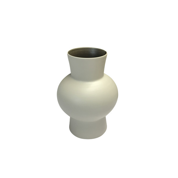 Contemporary Italian Wide Neck Medium Vase