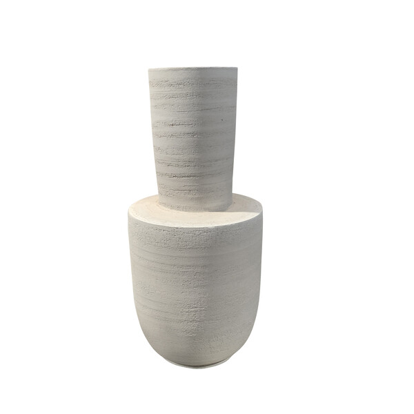 Contemporary Portuguese Stone Vase