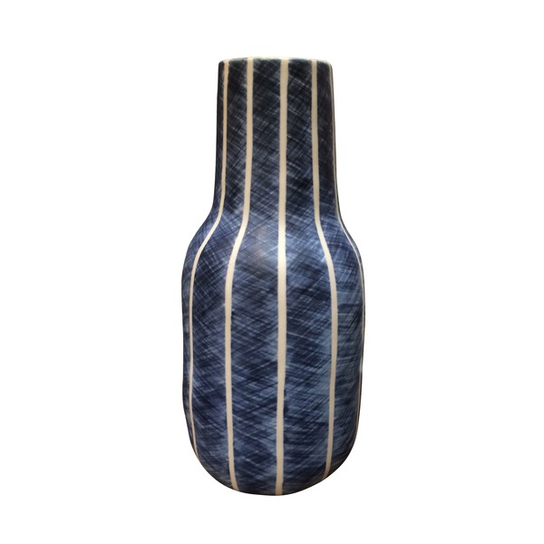 Contemporary Thailand Hash Tag Stripe Vase