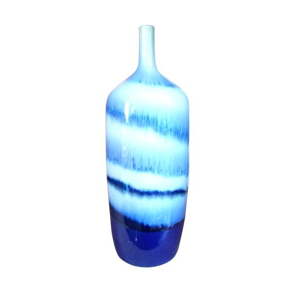 Contemporary Thailand Swirl Pattern Vase