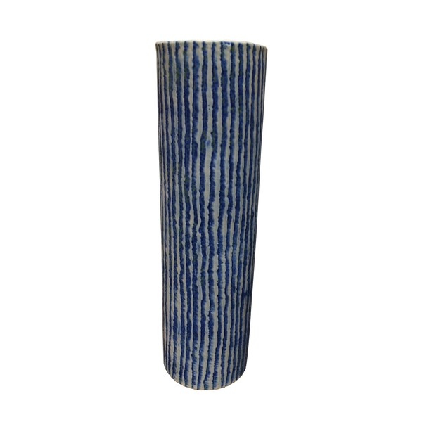 Contemporary Thailand Vertical Stripe Vase
