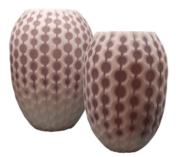 Contemporary Thailand Vintage Inspired Vase
