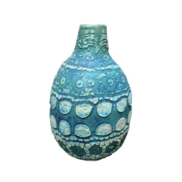 Contemporary Thailand Vintage Inspired Vase