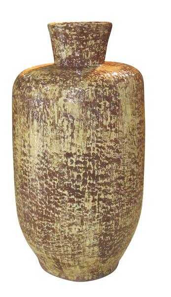 1960's French XL Textured Vase