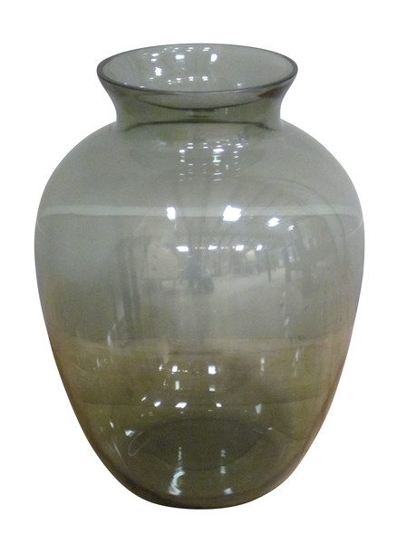 1960's  English Large Glass Vase