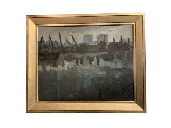 1930's French Oil Painting