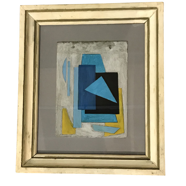 1930's Russian Abstract Painting