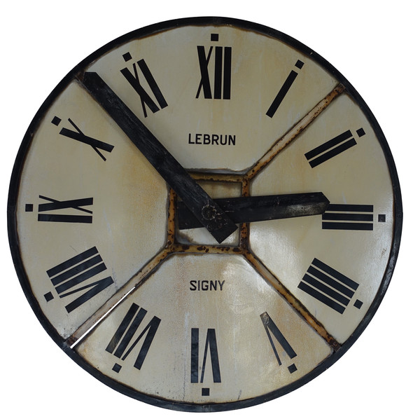 19thc French XL Clock Face