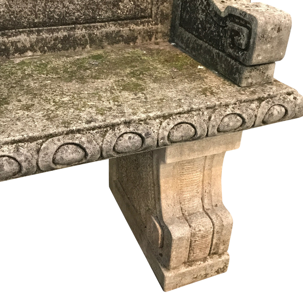 Groovy Balsamo Antiques 1920S Italian Vicenza Stone Bench With Back Frankydiablos Diy Chair Ideas Frankydiabloscom
