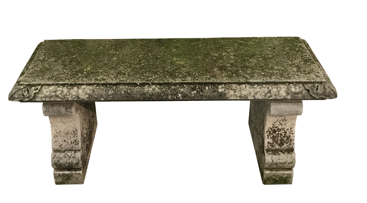 Balsamo Antiques 1920 S Italian Vicenza Stone Bench