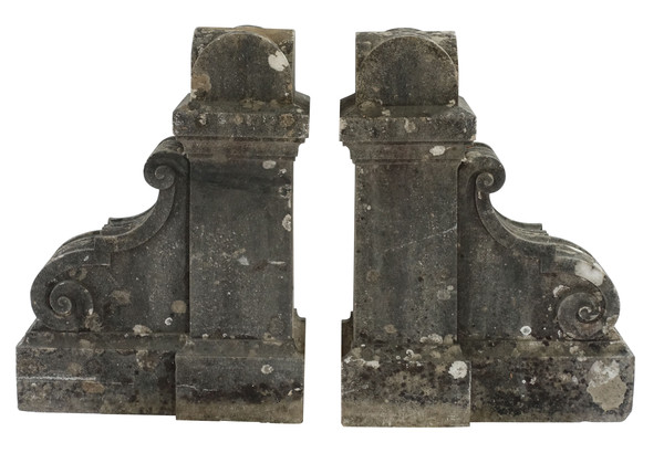 19thc French Stone Corbels